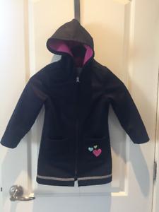 Lullahbelle Lined Rain Coat - Size 4/5