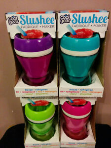 NEW: COOL GEAR SLUSHEE MAKER (8 oz) - $8 EACH