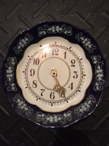 Zsolnay Decorative Wall Clock - Collector's Piece