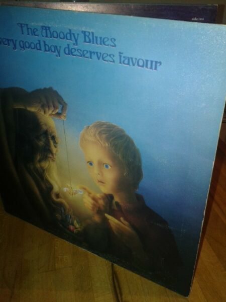 The Moody Blues-  Every Good Boy Deserves Favour  lp,71 ,cd
