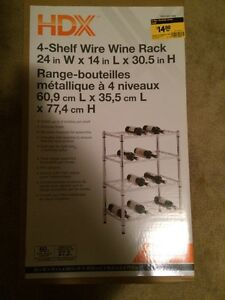 Wine Rack- New in Box