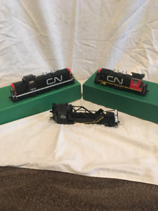 Model Trains Overland Brass Collector Items