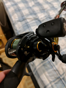 Selling brand new pro max bait caster