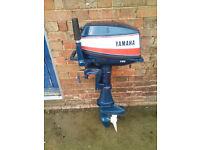 8HP Yamaha Short Shaft Outboard Engine