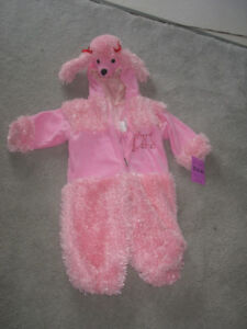 Halloween  costume pink poodle size 2T