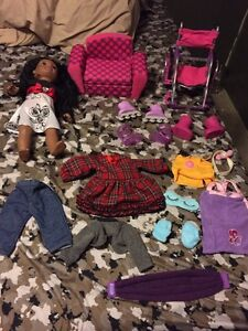 Newberry dolls and accessories