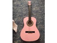 Pink Herald guitar