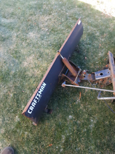 SNOW PLOW - FOR LAWN TRACTOR/ATV