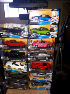 Fast and furious 1/24th scale diecast