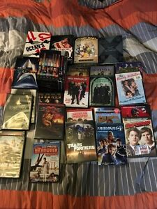 Various DVDs for sale