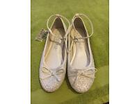 New Next Sequin Shoes..