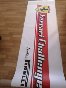 f1 collectible collection ecuries bannière banners