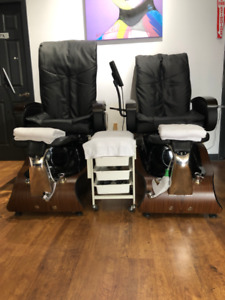used pedicure chairs
