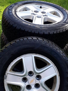 205 65 R15 Good Year Winter tires in great shape