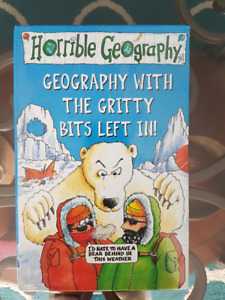 Brand New box set Horrible Geography books + Horrible History