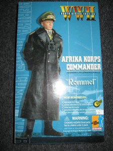 12'' Military German Figure''Erwin Rommel''-North Africa 1942-43