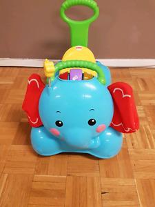 Fisher Price 3 in 1 Bounce, Stride and Ride elephant