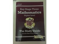 CGP KS3 Maths Higher Level Study Guide