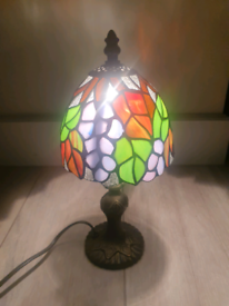 Stained Glass Desk Light Tiffany Style