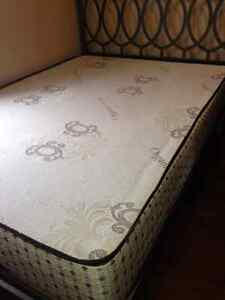 Mattress and bed frame in perfect condition!