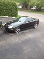 SLK 320 convertible ECHANGE possible