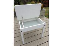 Children's Ikea Sundvik desk. White.