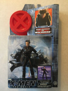 """""""X-MEN: THE MOVIE"""" Wolverine 6"""" Action Figure (Marvel/Toy Biz)"""