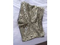 Amazing monsoon girls gold sequin shorts Age 10-11 years