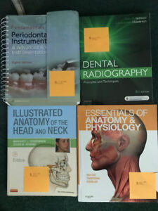 Dental Hygiene Program First Year Textbooks & Supplies For Sale