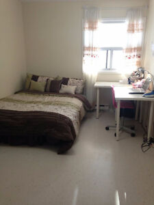 1 Bedroom for Rent in a two bedroom apartment