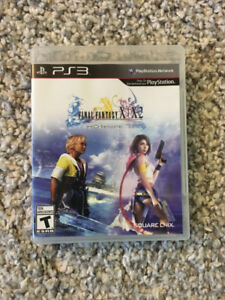 Final Fantasy X/X-2 HD Remaster for the PS3