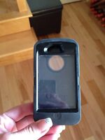 Black otter box for iPhone 4