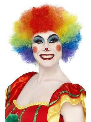 - Regenbogen Clown Perücke