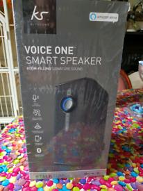 Kitsound voice one smart speaker alexa voice