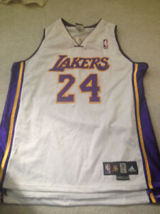 Authentic Adidas Kobe Bryant Lakers basketball jersey