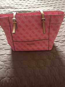 Authentic Guess Delaney Tote Purse