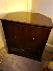 Antique style TV cabinet