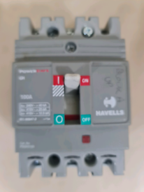 Havells Power Safe GH 63 Amp Triple Pole TP MCCB