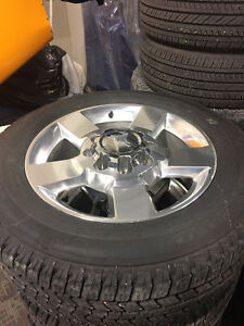 "2500HD GMC Take Offs 20"" Rims with Tires LT265/60 R20"