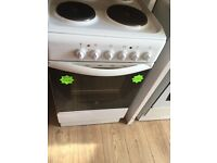 *****White Indesit 50cm electric cooker*****Free Delivery*Fitting*Removal
