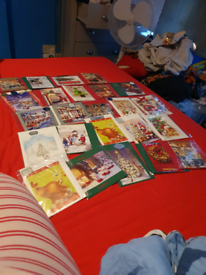 homemade christmas cards 2 for £1 or 10 for £2
