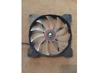 Corsair Red LED (AF140) 140mm airflow PC case fan