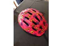 Girls size S bicycle helmet