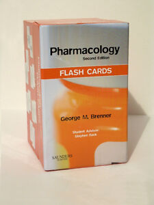 Pharmacology Flash Cards - NEW