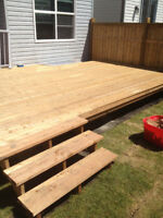 Deck & Fence Builder looking for Contracts