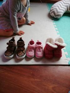 Girl shoes sizes 3-6