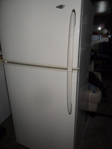 4 year old DELUXE Maytag  white Fridge $260. OBO also Stove $140
