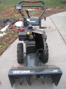 """Craftsman 9 HP 27"""" Snowblower with Electric Start"""
