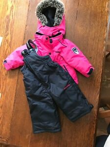Girls 12month snow suit