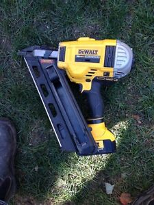 Wanted: Dewalt 20v Framing Nailer